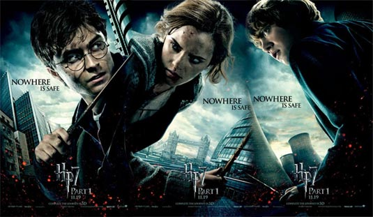 harry potter 7 movie poster. harry potter 7 part 2 movie